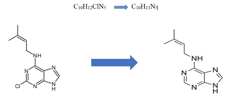 6-(γ γ-DimethylallylAminoPurine-2iP-02