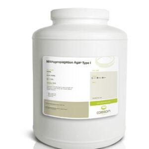 High quality agar for plant tissue culture